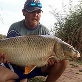 László, Ponty, 13,80kg, Akasztói horgászpark