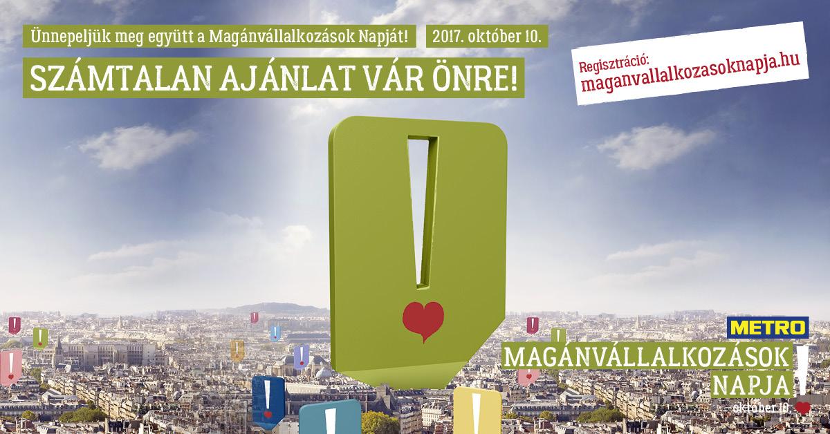 Magánvállalkozások Napja - Október 10.