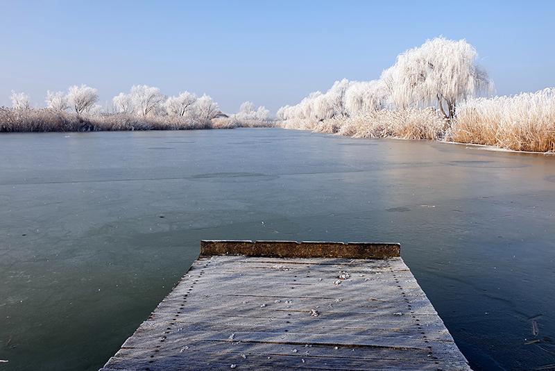 Tél a Horgászpark